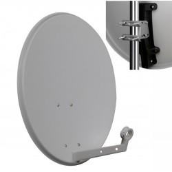 Antena Satelitarna 70 cm Stalowa Corab Biała