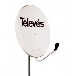 Antena Satelitarna 80 cm Televes Biała