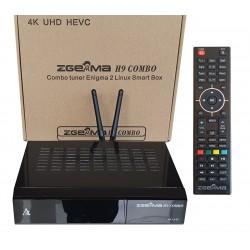 ZGEMMA H9 COMBO 4K 1xDVB-S2X + 1xDVB-T2/C ENIGMA LINUX OSCAM