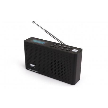 RADIO CYFROWE DAB+/FM OPTICUM TON3 - CZARNE
