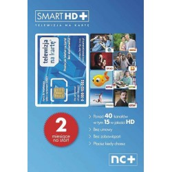 TELEWIZJA NA KARTE KARTA SMART HD 2 MIESIĄCE GRATIS