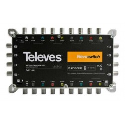 MULTISWITCH KASKADA TELEVES NOVOSWITCH 9x9x8 nr kat. 714601