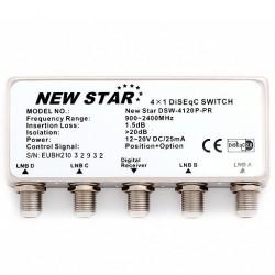DiseqC 4/1 New Star