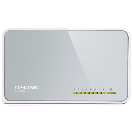 SWITCH TP-LINK TL-SF1008D 8 PORTÓW 10/100Mb/s