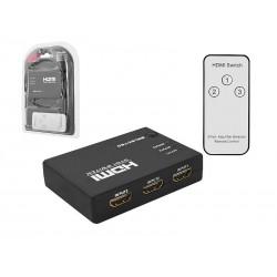 SUMATOR HDMI 3X1 MINI V1.4 + PILOT