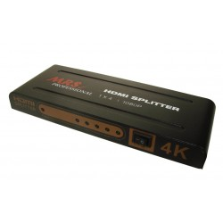 ROZGAŁĘŹNIK SPLITTER HDMI 1x4 MRS Professional 1.4b