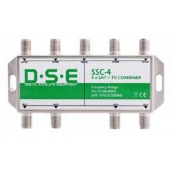 ZWROTNICA RTV/SAT X4 DSE SSC4
