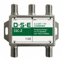ZWROTNICA RTV/SAT X2 DSE SSC2