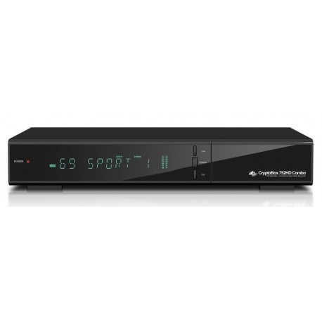 TUNER SATELITARNY CRYPTOBOX 650 DVB-S/S2