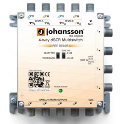 MULTISWITCH UNICABLE JOHANSSON 9754APL dSCR dCSS