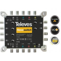 MULTISWITCH KASKADA TELEVES NOVOSWITCH 5x5x6 714502